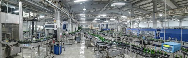Production d'eau minérale
