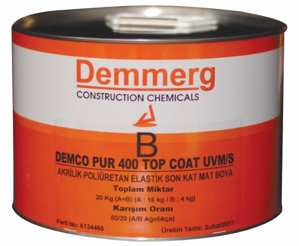 DEMCO PUR 400 TOP COAT UVM