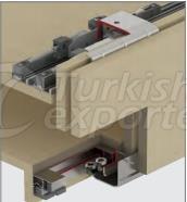 Adjustable Sliding Wardrobe System M02 8080 SFT