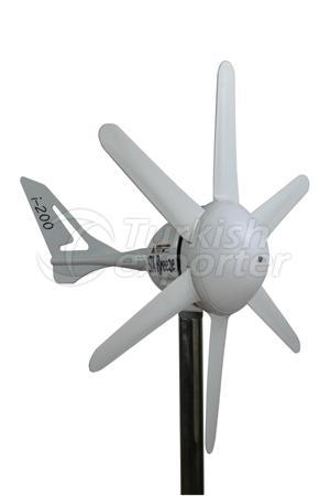 200W Mini Wind Turbine i200