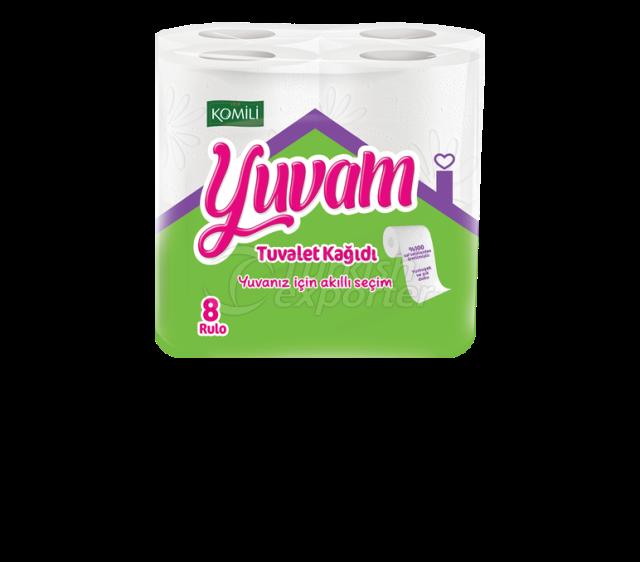 Yuvam Toilet Paper 8 Rolls