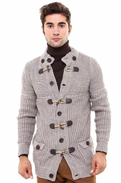 WSS Wessi Ivory Button Coat