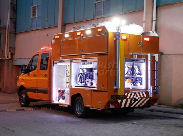 First Responder Vehicles MERCEDES SPRINTER