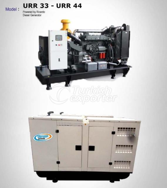 Diesel Generator - URR 33- URR 44