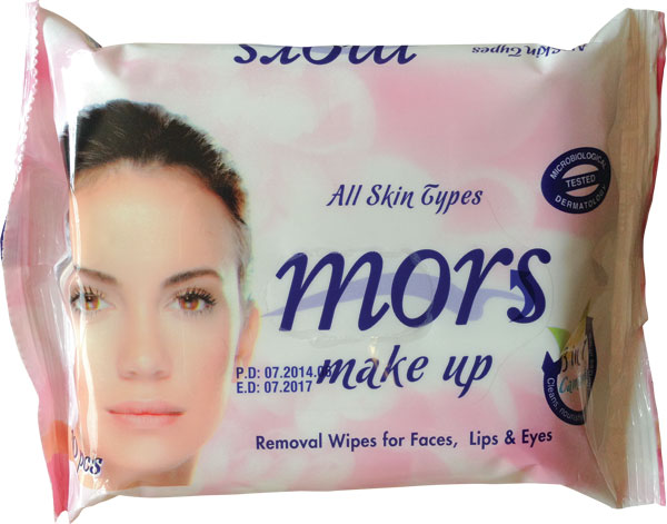 Removal Wipes for Make-up