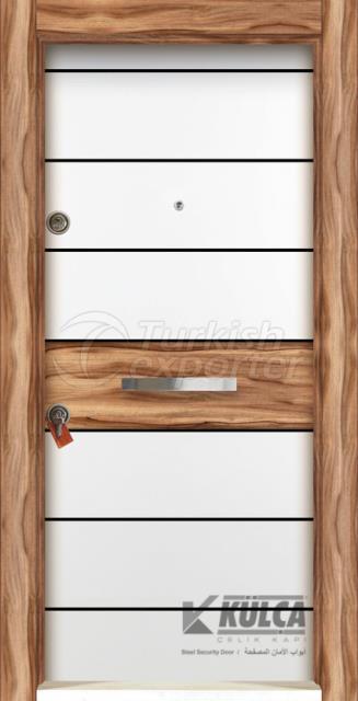 D-2026 (PVC STEEL DOOR )