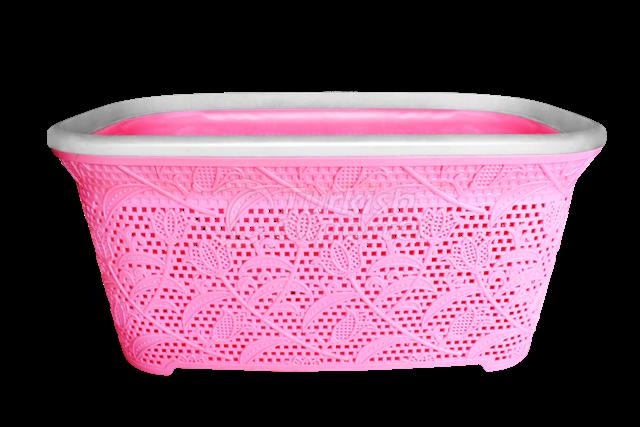 Lacy Rectangular Basket 25 lt