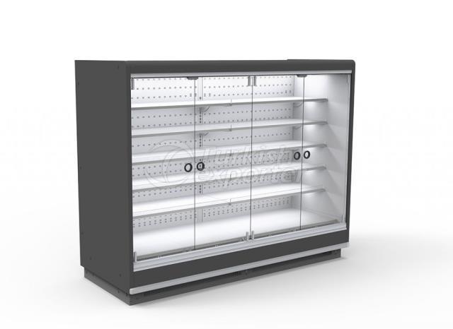 Refrigerated Multideck Cabinet Single Glass Door LION SGD