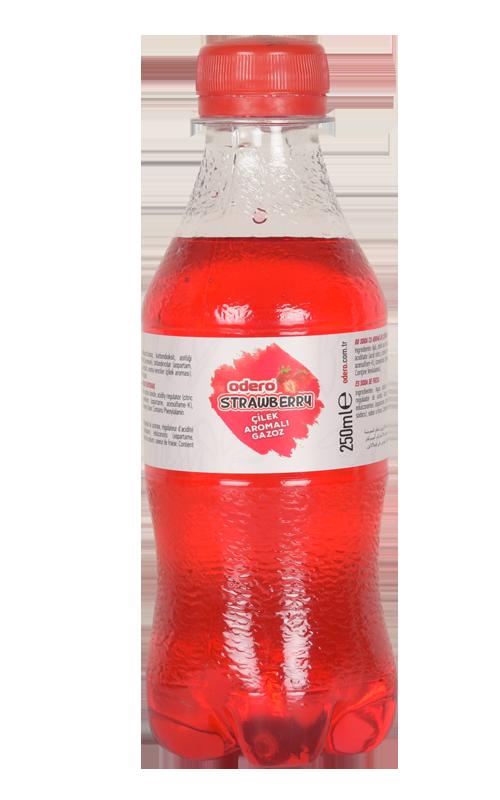 Carbonated Drinks Soft Drinks Strawberry Flavor Sparkling Beverages 250 ml Pet Fresh