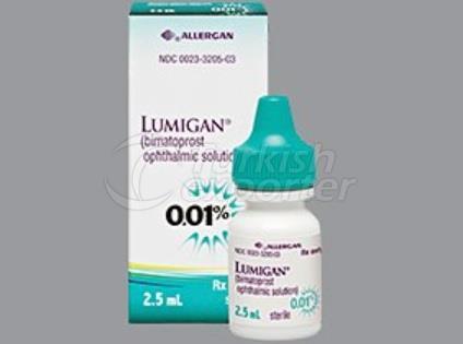 LUMIGAN RC 2.5 ML EYE DROP