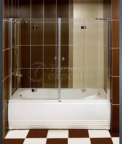 دش و كابينة حوض الاستحمام D-6704