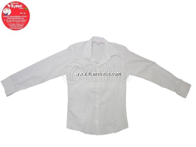 Highschool Boy White Shirt