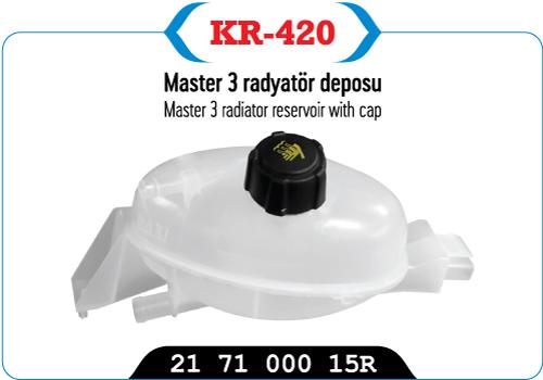 MASTER 3 RADYATOR DEPOSU