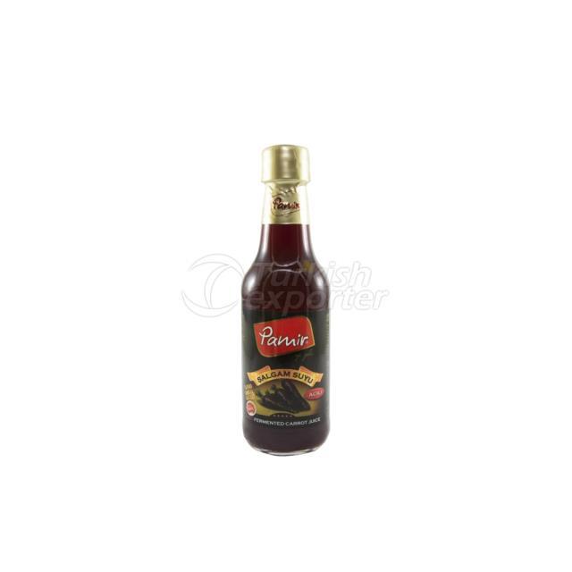 Botella de vidrio de nabo de zafiro caliente 250Ml