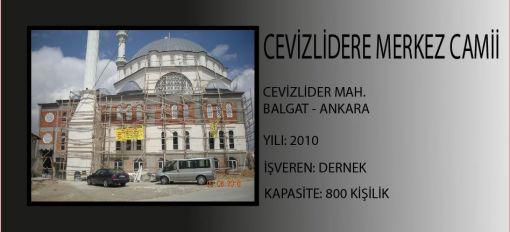 Cevizlidere Central Mosque