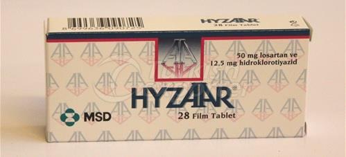 HYZAAR 50 MG AND 100 MG 28 TABLETS