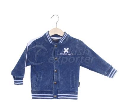 Denim Bomber Child Jacket