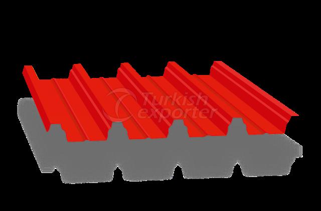 Panel corrugado para techos 65 206 Cubierta