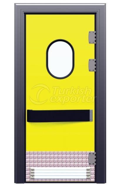 Puertas de almacenamiento en frío Flip Flap