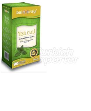 Green Tea Herbal Mixture