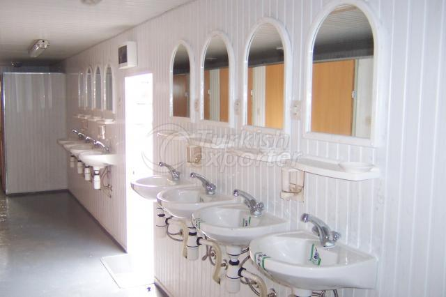 WC - Duş Konteynerler