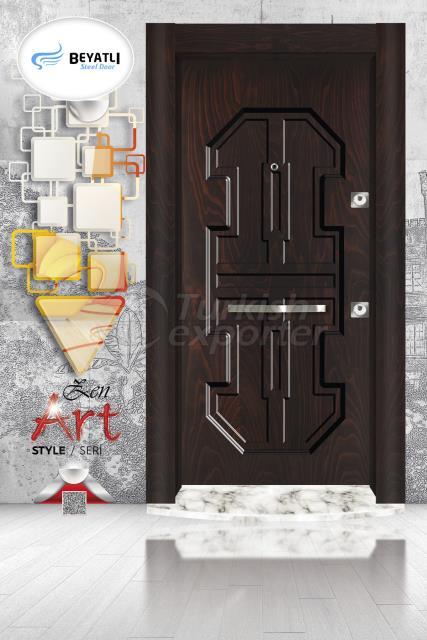 Steel Door - ZA 104