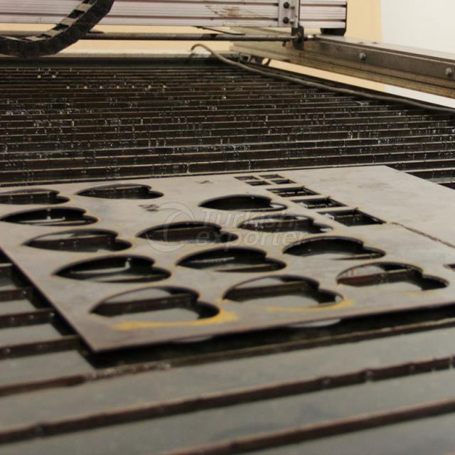Plasma Cutting Sheet Metal