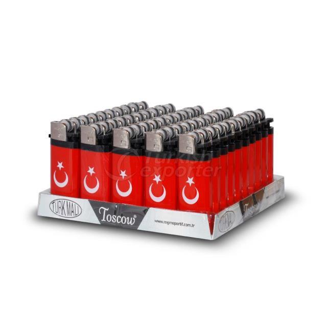 Toscow Lighter Turkish Flag