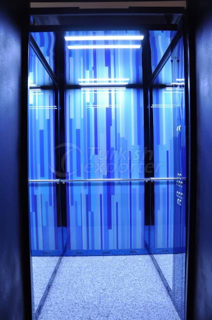 Yukselis ascenseur cabine - Rina