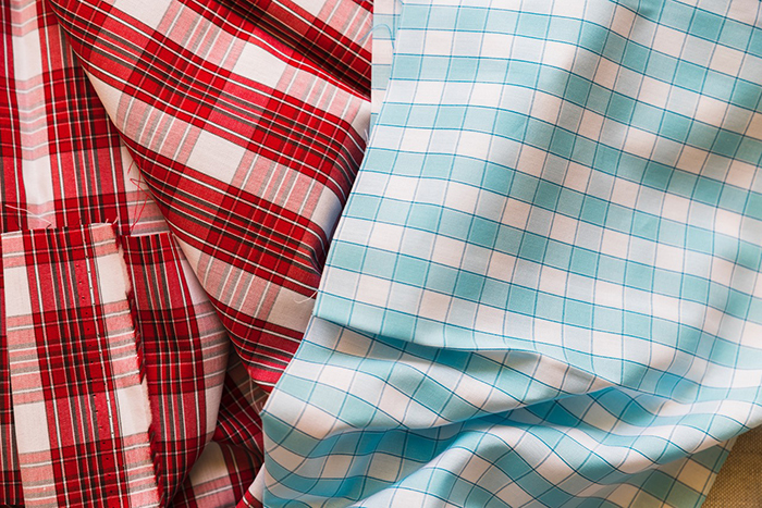 Polyester Plaid Lining