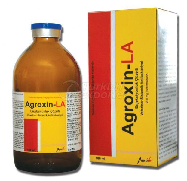 Inyección de Agroxin-LA