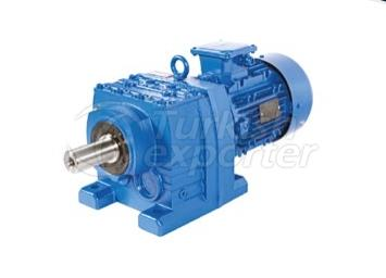 Monoblock Helical Gearbox (Footed)