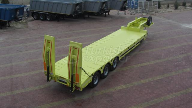 3 Axel Lowbed Semi Trailer