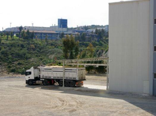 منظر عن مصنع Cukurova Irmik