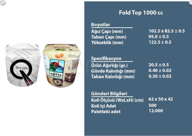 Fold Top 1000 cc