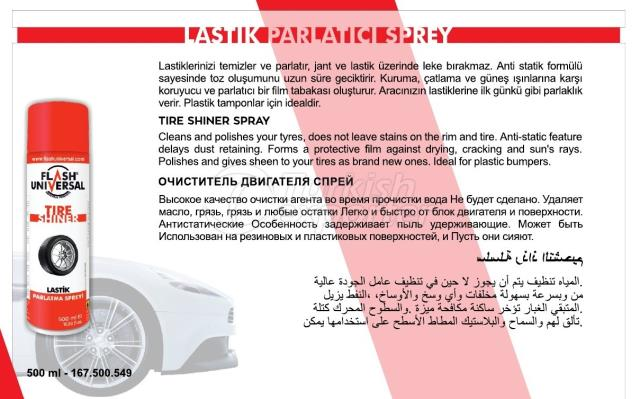 Tire Shiner Spray
