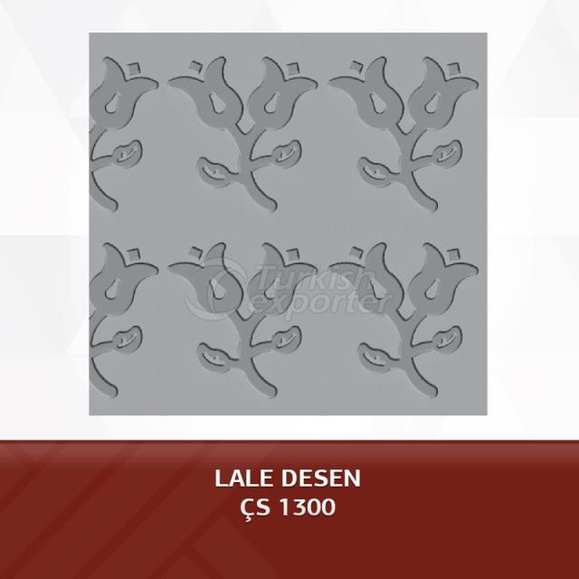 الصفائح المعدنية المطبوعة - منقوشة من النسيج الحريري