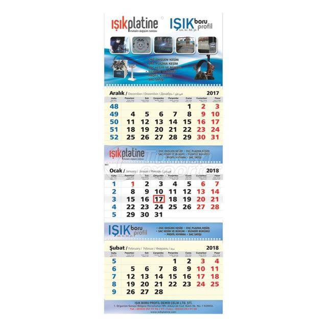 Classic Wall Calendar