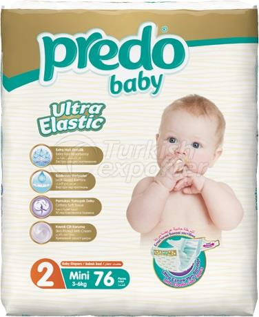 Couches bébé Predo Jumbo Ultra Small