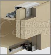 Adjustable Sliding Wardrobe System M02 8250 SFT