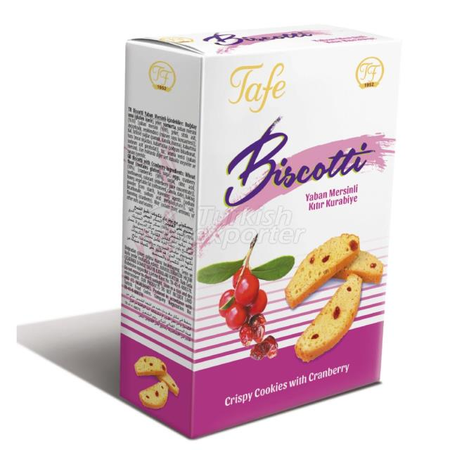 363 code Biscotti Crispy Cookies with Cranberry 120g