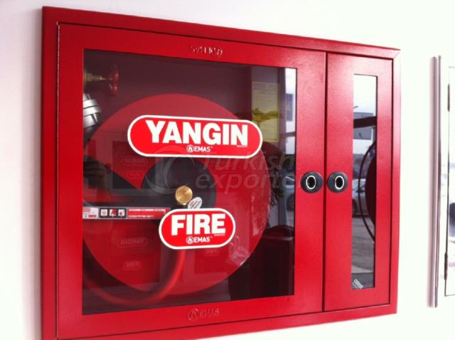 Hotel Concept-Fire Exit Doors and Fire Fighting Cabinets