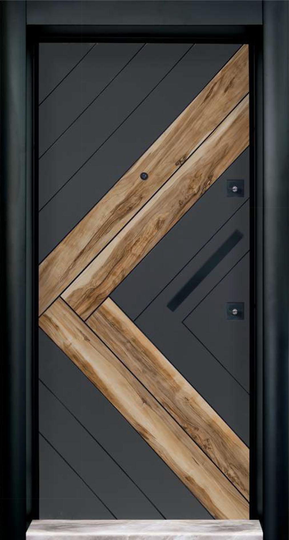 Laminate  Steel Door 7501