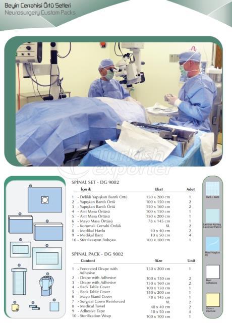 Neurosurgery Custom Packs