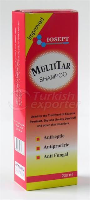 Multitar Shampoo 200 ml