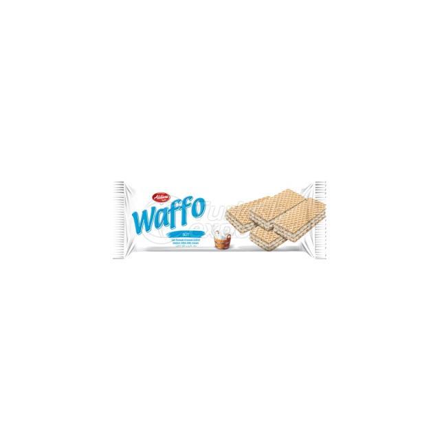 Waffo Wafer With Milk Cream