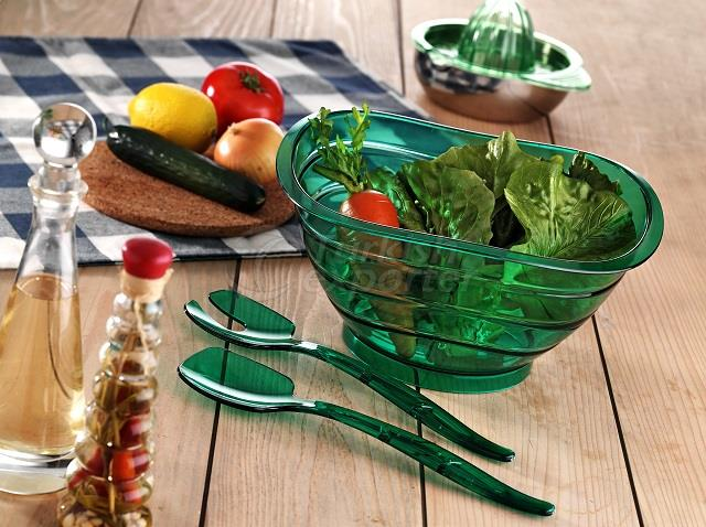 Salad Bowl with Spoon