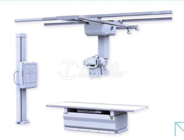 Double Detectors Digital X-Ray Systems