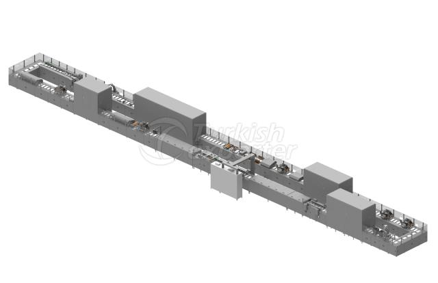 automatic shell moulding line