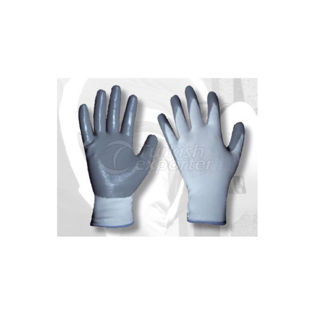 Ebax Gray Nitrile Glove